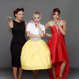 Marta, Rym y Yiya, protagonistas de 'Un príncipe para 3 princesas'