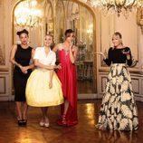 Luján Argüelles acompaña a las protagonistas de 'Un príncipe para 3 princesas'