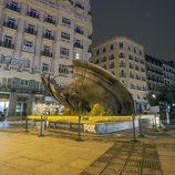 Madrid amanece con un OVNI en sus calles