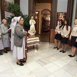 Las novicias reciben su cruz en 'Quiero ser monja'