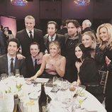 Primera imagen de los actores de 'TBBT' y 'Friends' en un reencuentro para NBC