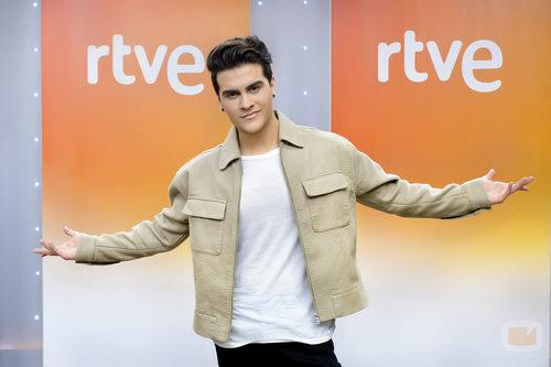 Maverick en la rueda de prensa de 'Objetivo Eurovisión'