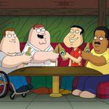 Peter Griffin y sus amigos