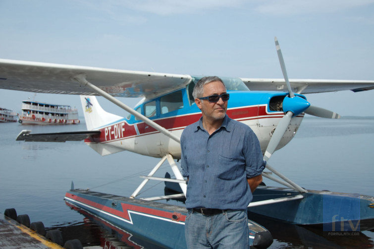 El periodista Javier Sardá presenta 'Dutifri', el nuevo programa de viajes de Telecinco