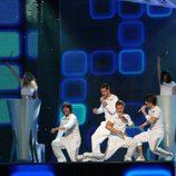 D'Nash ensaya para Eurovisión 2017