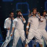 D'Nash ensaya para Eurovisión 2007