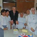 Javier Sardá visitó Filipinas con 'Dutifri'