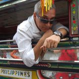 Javier Sardá grabó uno de sus reportajes de 'Dutifrí' en Filipinas
