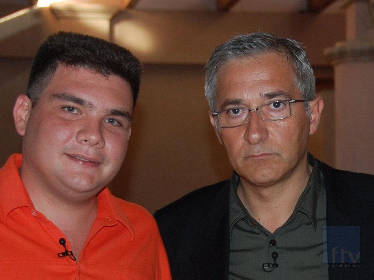 Javier Sardá y Paco Larrañaga