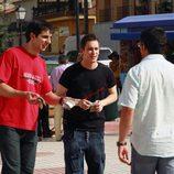 Eric Cortés y Joaquín Arias venden marihuana