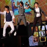 Nick Jonas, Joe Jonas y Kevin Jonas
