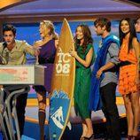 'Gossip Girl' en los Teen Choice Awards 2008