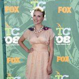 Scarlett Johansson posa en los 'TCA 2008'
