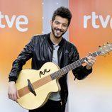 Salvador Beltrán en la rueda de prensa de 'Objetivo Eurovisión'