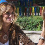 Patricia Gaztañaga junto a una invitada de 'Cuestión de tiempo'