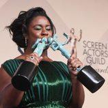 Uzo Aduba, premiada en los SAG 2016