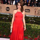 Tina Fey en la alfombra roja de los SAG 2016
