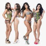 Las chicas de 'MTV Super Shore' posan en bikini