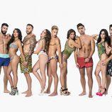 Foto promocional de los participantes de 'MTV Super Shore'