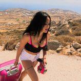 Arantxa llega a 'MTV Super Shore' bien de rosa (1x01)