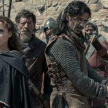 Amelia y Alonso preparados para luchar en 'El Ministerio del Tiempo'