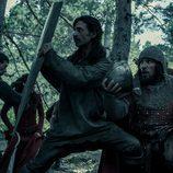 Alonso y El Cid se defiende en pleno ataque en 'El Ministerio del Tiempo'