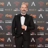 Javier Cámara en la alfombra roja de los Goya 2016