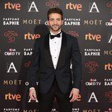 Pablo Alborán en la alfombra roja de los Goya 2016