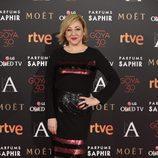 Carmen Machi en la alfombra roja de los Goya 2016