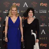 Emma y Adriana Ozores en la alfombra roja de los Goya 2016