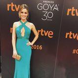 Edurne en la ceremonia de entrega de los Goya 2016