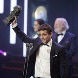"""Ganadores Goya 2016: Miguel Herranz, actor revelación por """"A cambio de nada"""""""