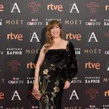 Nathalie Seseña en la alfombra roja de los Goya 2016