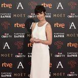 Paz Vega en la alfombra roja de la cena de los nominados a los Goya 2016