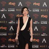 Anna Castillo en la alfombra roja de los Goya 2016