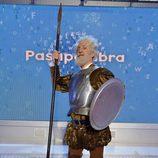 Santi Rodríguez es Don Quijote en el carnaval de 'Pasapalabra'