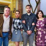 Pepo Oliva, María León, Jon Plazaola y Ane Gabarain en la segunda de 'Allí abajo'
