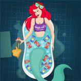 """Ariel de """"La sirenita"""" celebra su soltería en San Valentín"""