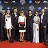 Los actores de 'El Ministerio del tiempo' se reúnen con motivo del estreno de la 2ª temporada