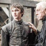 Bran Stark y el Cuervo de los Tres Ojos en la sexta temporada de 'Juego de tronos'