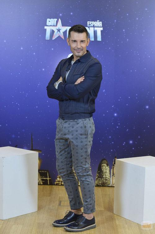 Foto promocional de Jesús Vázquez, jurado de 'Got Talent España'