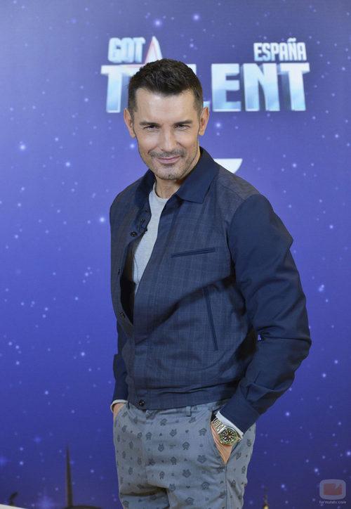 Jesús Vázquez es jurado del nuevo concurso de Telecinco, 'Got Talent España'
