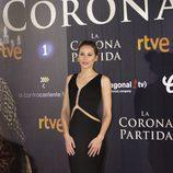 Irene Escolar posando en el preestreno de su nueva película 'La Corona Partida'