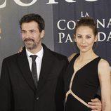 Rodolfo Sancho e Irene Escolar  juntos en la presentación de 'La Corona Partida'