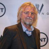 Michael Hirst posa en el photocall de la presentación de la nueva temporada de 'Vikingos'