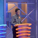 El concursante de 'Pasapalabra', Jero Hernández, en el famoso atril del programa