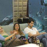 Charlotte Caniggia, Laura Matamoros y Julián Contreras juntos en la casa de 'Gran Hermano Vip'