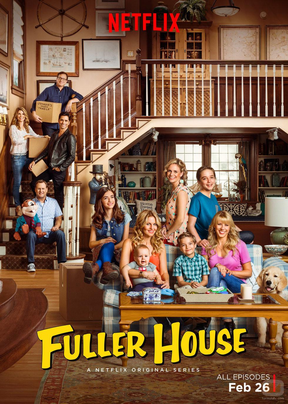 Así es el póster de 'Madres forzosas' ('Fuller House')