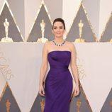 Tina Fey en la alfombra roja de los Premios Oscar 2016