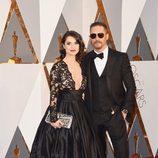 Tom Hardy en la alfombra roja de los Premios Oscar 2016